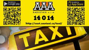 Vylepšená mobilní aplikace AAA TAXI umožňuje okamžité objednání taxi a kontrolu nad jízdou