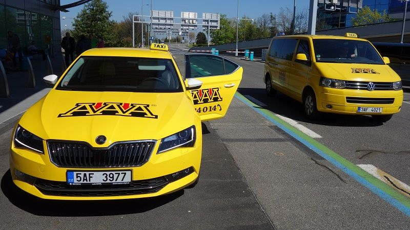 Aaa Taxi Taxi Service At The Prague Airport